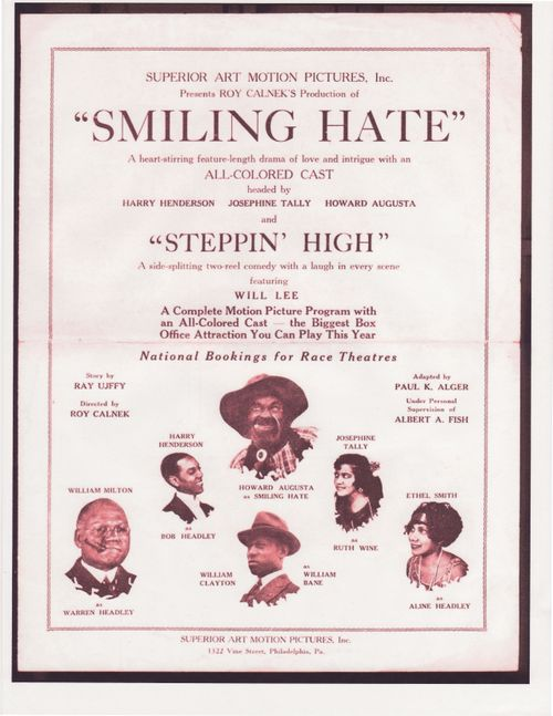 SMILING HATE-MY MOTHER LOWER RIGHT-HER ACTING NAME-ETHEL SMITH